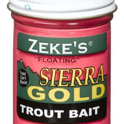 0911 Zeke's Sierra Gold Floating Trout Bait - Pink