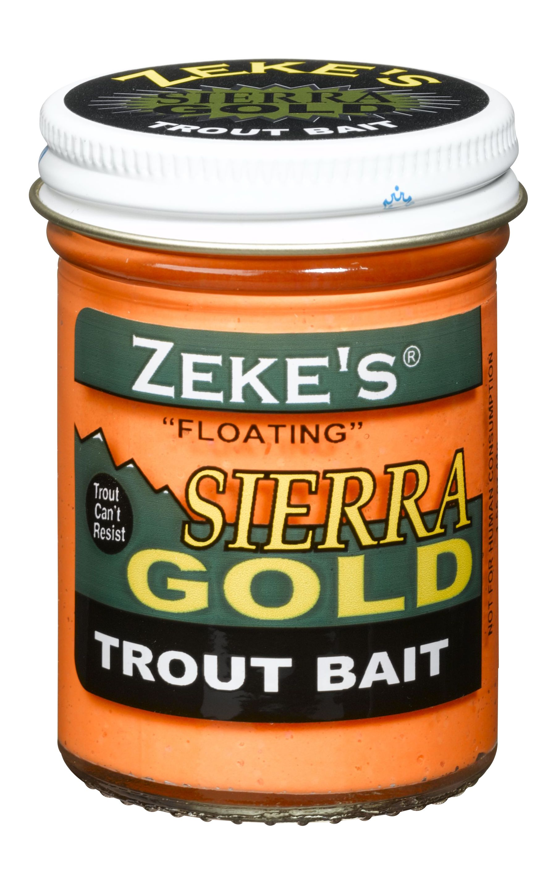 0914 Zeke's Sierra Gold Floating Trout Bait - Orange