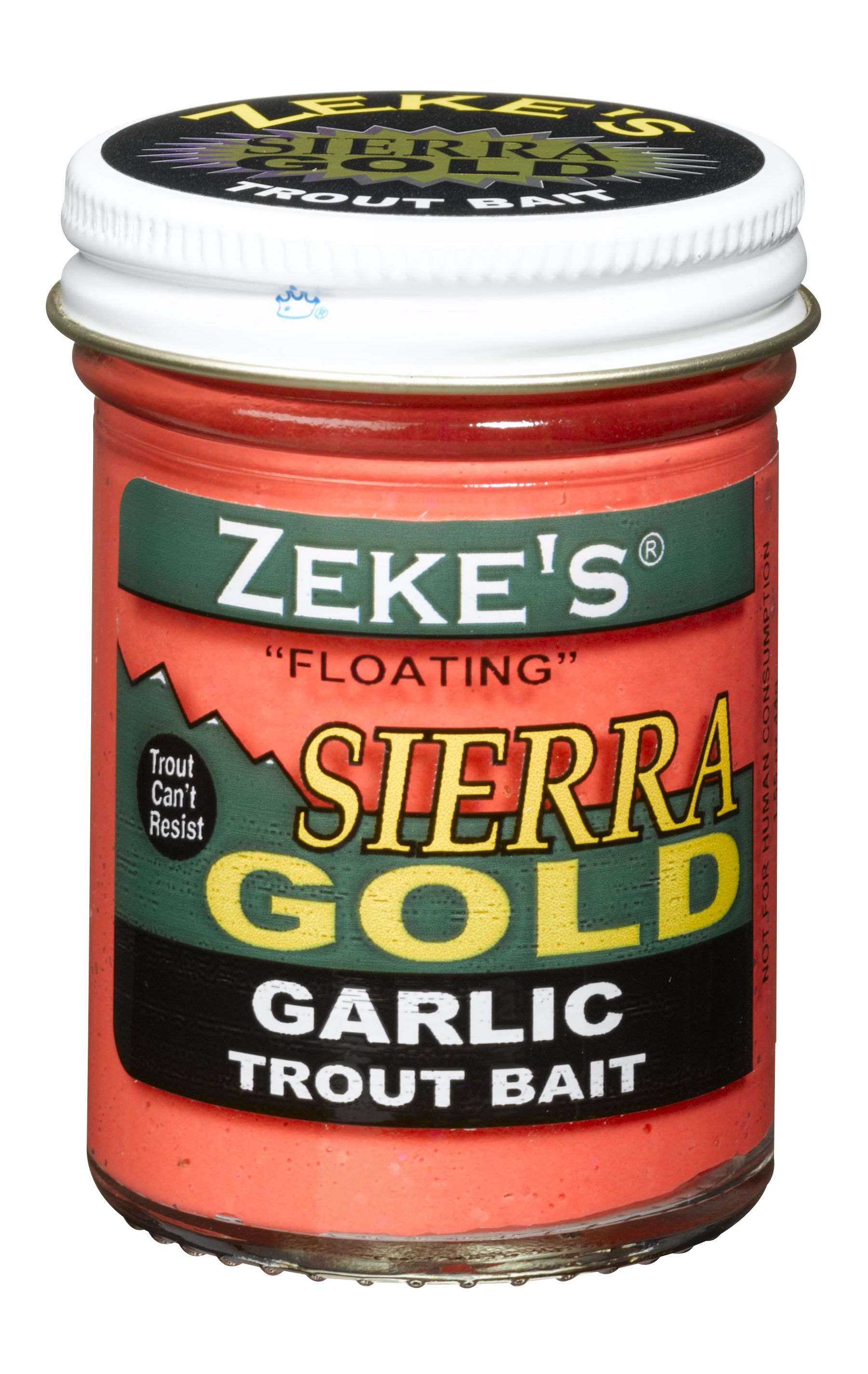 0916 Zeke's Sierra Gold Floating Trout Bait - Garlic/Red