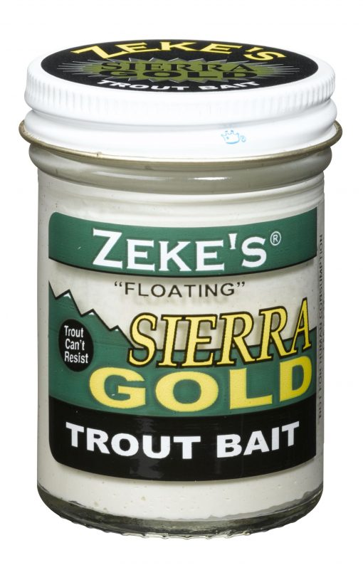 0917 Zeke's Sierra Gold Floating Trout Bait - White