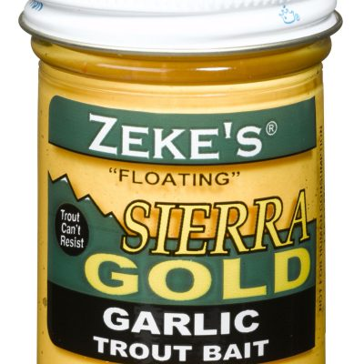 0920 Zeke's Sierra Gold Floating Trout Bait - Garlic/Yellow