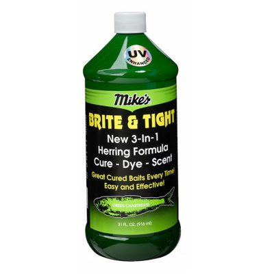 13007 Mike's Brite & Tight-Herring Formula-Green Chartreuse