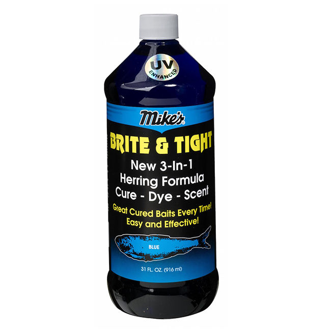 13009 Mike's Brite & Tight Herring Formula Blue