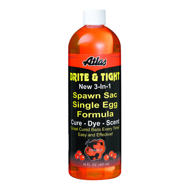 14003 Atlas Brite & Tight Spawn Sac Formula - Orange