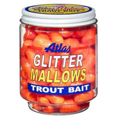 32033 Atlas Glitter Mallows - Orange/Garlic Orange Garlic