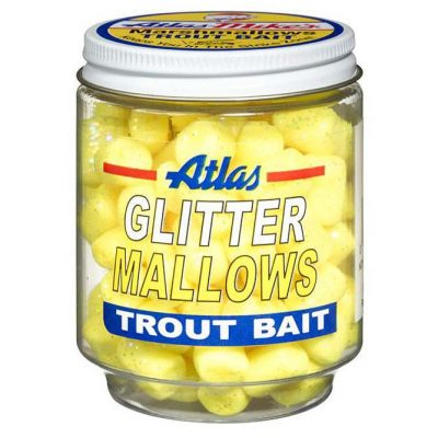 32034 Atlas Glitter Mallows - Yellow/Cheese
