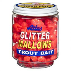 32036 Atlas Glitter Mallows Red Anise
