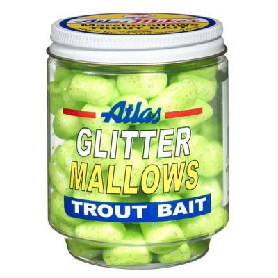 32037 Atlas Glitter Mallows - Chartreuse/Cheese