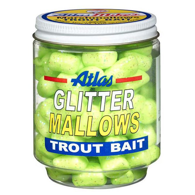 32039 Atlas Glitter Mallows Chartreuse Garlic