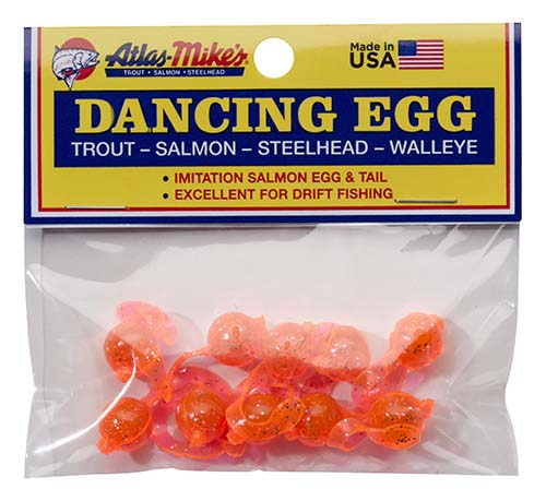 42023 Atlas-Mike's Dancing Egg Glitter Orange