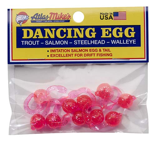 42025 Atlas-Mike's Dancing Egg Glitter Pink