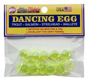 Steelhead Accessories: 42027 Atlas-Mike's Dancing Egg Glitter Chartreuse