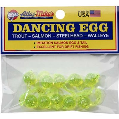 42027 Atlas-Mike's Dancing Egg Glitter Chartreuse