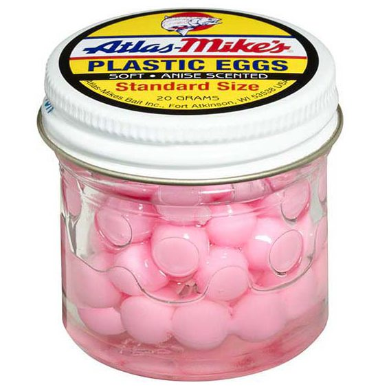 43002 Atlas Plastic Egg - Bubble Gum