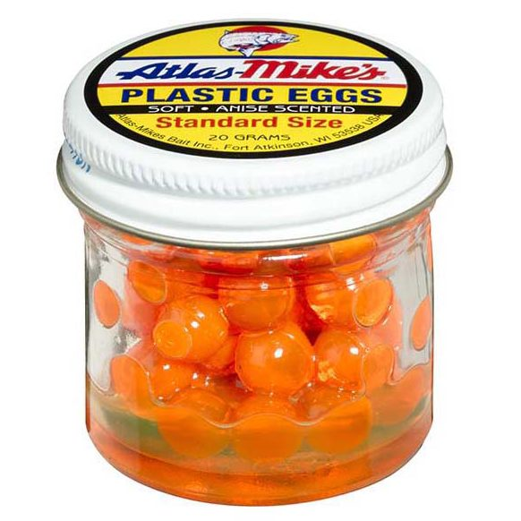 43003 Atlas Plastic Egg - Orange