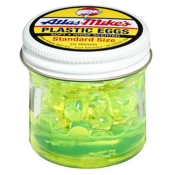 43007 Atlas-Mike's Plastic Eggs Chartreuse