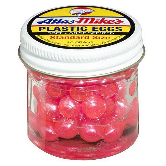 43008 Atlas Plastic Egg - Pearl Pink