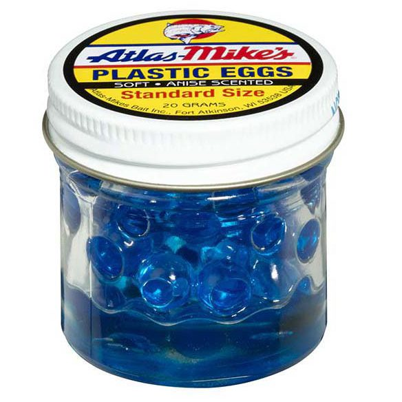 43009 Atlas Plastic Egg - Blue