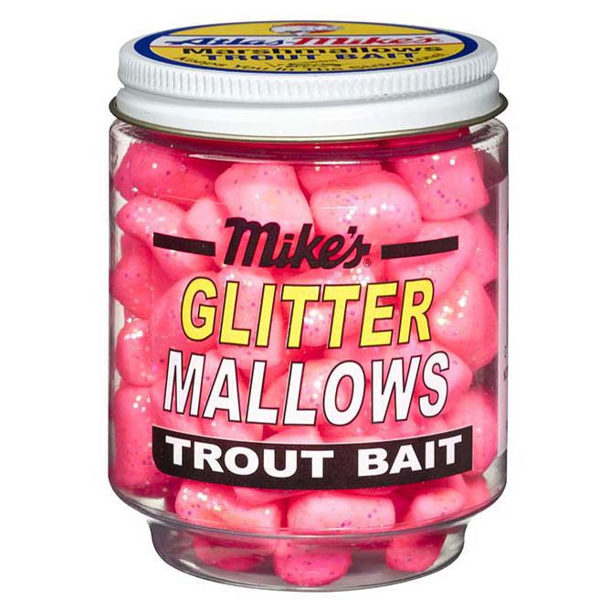 5202 Mike's Glitter Glo Mallows - Cerise/Shrimp