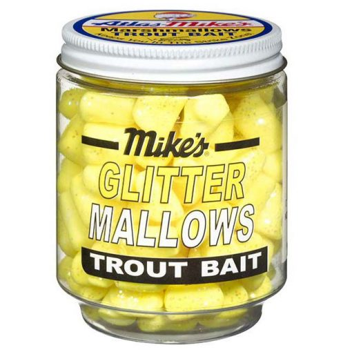 5203 Mike's Glitter Glo Mallows - Yellow/Cheese