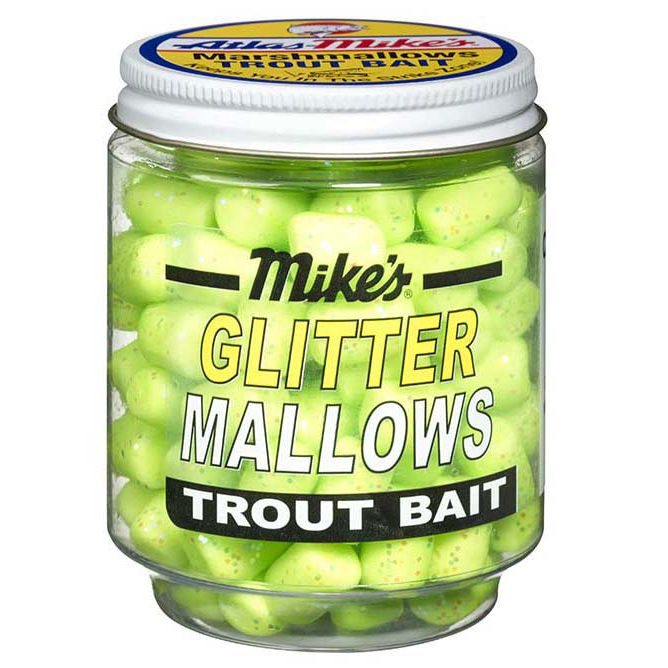 5210 Mike's Glitter Mallows Chartreuse Cheese