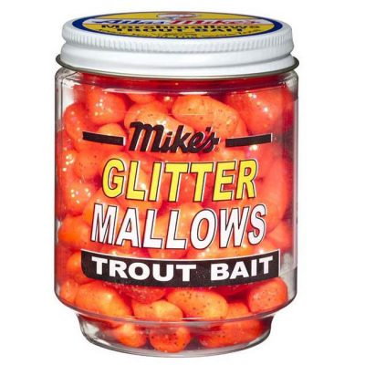 5211 Mike's Glitter Glo Mallows - Orange/Cheese