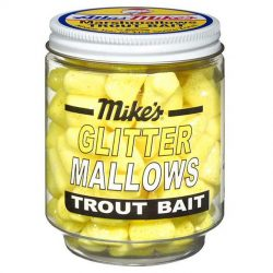 5213 Mike's Glitter Mallows Yellow Garlic