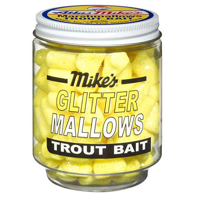 5213 Mike's Glitter Glo Mallows - Yellow/Garlic