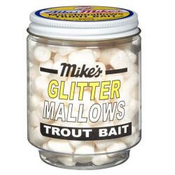 5215 Mike's Glitter Glo Mallows - White/Anise