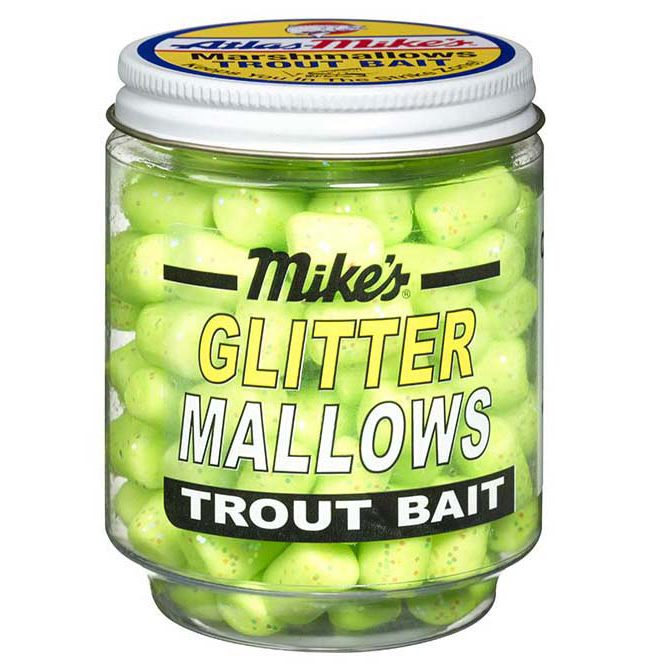 5230 Mike's Glitter Glo Mallows - Chartreuse/Garlic