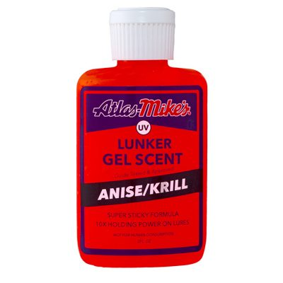 Atlas Mike's UV Lunker Gel Scent - Anise/Krill