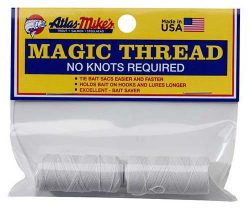 66021 Atlas-Mike's Magic Thread 2 Spools White
