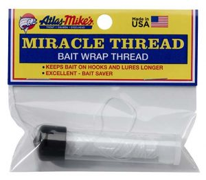 Steelhead Accesories; 66830 Atlas-Mike's Miracle Thread With Dispenser Clear