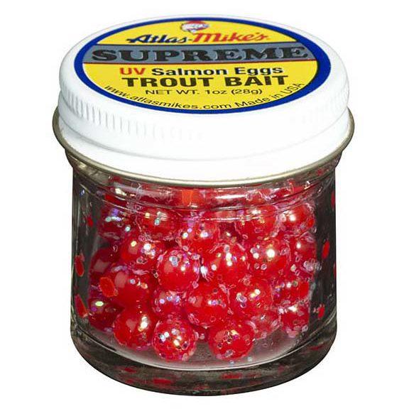 76006 Atlas-Mike's Supreme Glitter Salmon Eggs Red