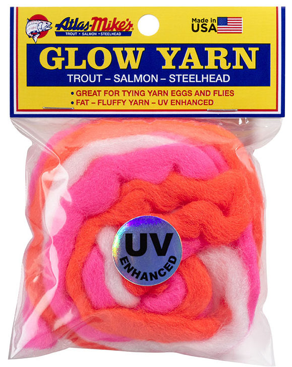 77004 Atlas UV Glow Yarn - Rainbow