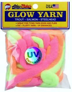 77008 Atlas UV Glow Yarn-Assorted