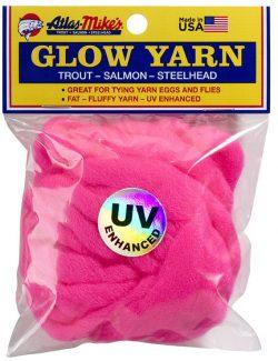 77009 Atlas UV Glow Yarn-Cerise