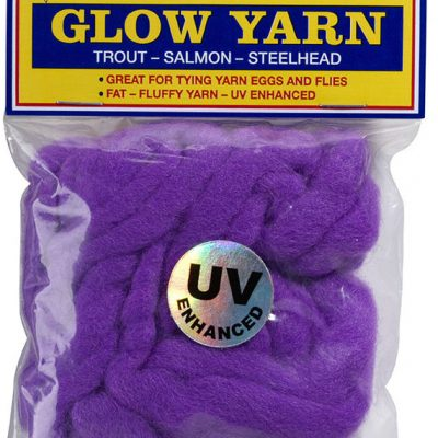77017 Atlas UV Glow Yarn - Dark Purple