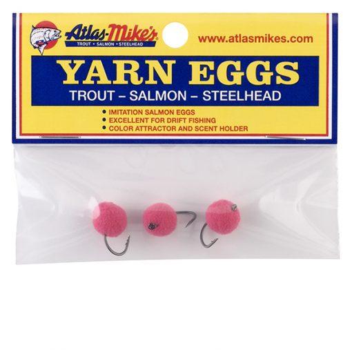 PInk Yarn Eggs