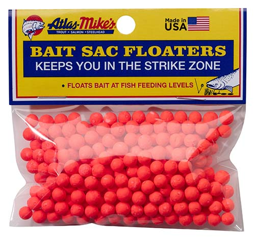 99006 Atlas Mike's Bait Sac Floaters Red