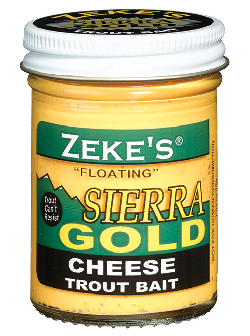 Zeke's Sierra Gold - Cheese Trout Bait