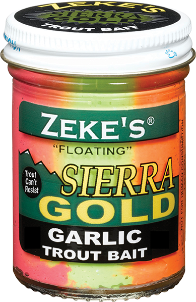 Zeke's Sierra Gold Cheese Trout Bait