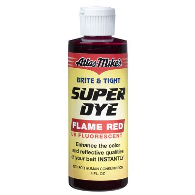19006 Atlas-Mike's Brite & Tight Super Dye - Flame Red