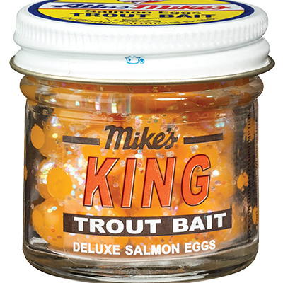 1204 Mike's King Glitter Egg - Yellow